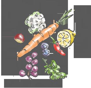 La cucina naturale/vegetale di casa