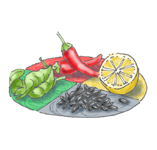 I temperamenti nella cucina naturale